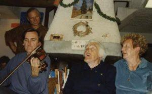 Veillée à Orcières (05) 1995