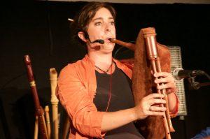 Agnès Clauzel - flûte, cornemuse, chant