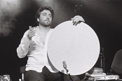 Roméo Monteiro, percussion